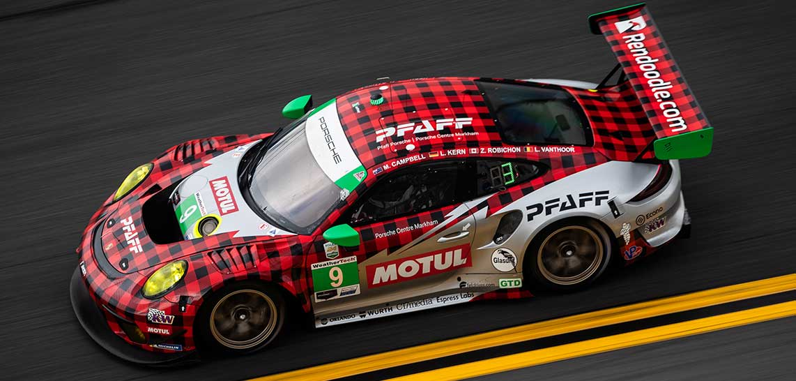 New home improvement marketplace Rendoodle sponsors Pfaff Motorsports #9 Porsche at 24 hours of Daytona